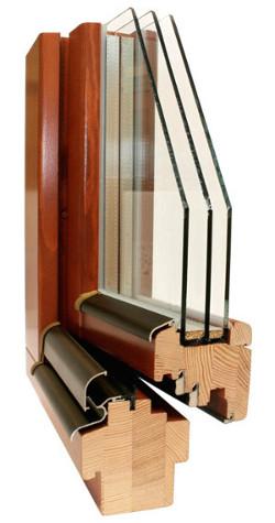 Okno drewniane